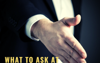 What to Ask at the End of an Interview