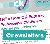 Hello from CK Futures Professional CV Writers – How are you getting on?