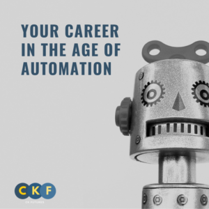 Your career in the age of automation