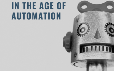 The robots are coming!  Your career in the age of automation