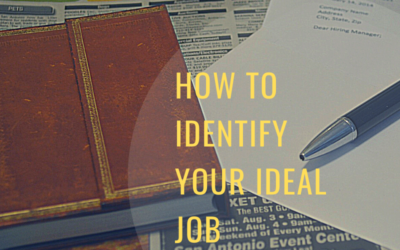 How to Identify Your Ideal Job