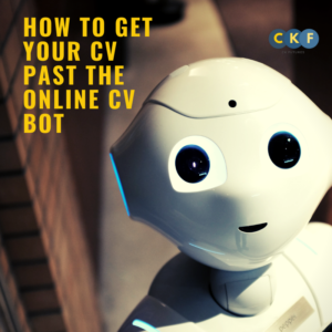 How to get your CV past the online CV bot