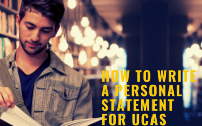 How to write a Personal Statement  for UCAS University Applications